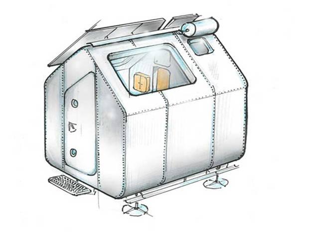 Diogene la casa minimal progettata da renzo piano for Creatore del piano casa