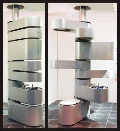 Vertebrae il bagno più piccolo al mondo