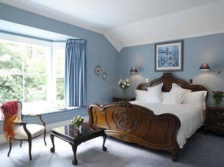 I colori per le pareti della camera da letto - Camera da letto marrone ...
