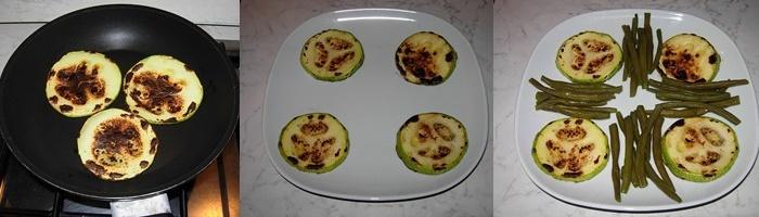 tonno gamberetti verdure