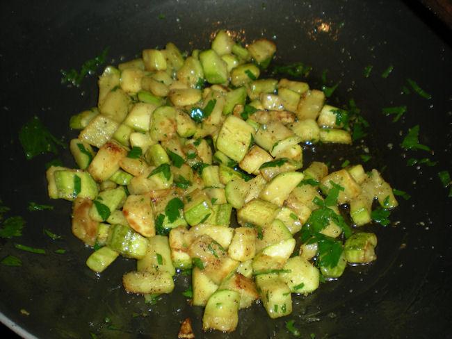 trofie zucchine e pesto di mandorle