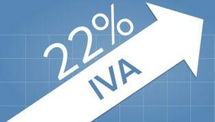 IVA al 22%, dal 1° ottobre l'aumento