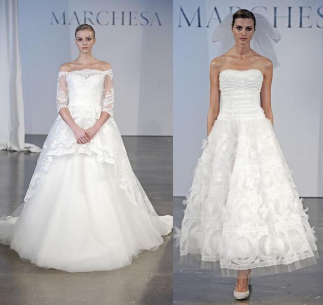 new arrival 6492a ff173 I trend per gli abiti da sposa del 2014