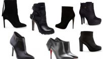 Tronchetti neri, le calzature più cool dell'inverno 2014