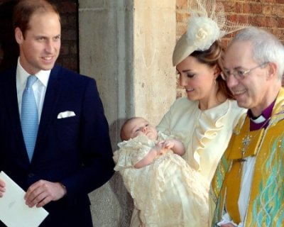 Cerimonia molto intima per il battesimo di George di Windsor