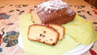 Plumcake allo yogurt di vaniglia e gocce di cioccolato fondente