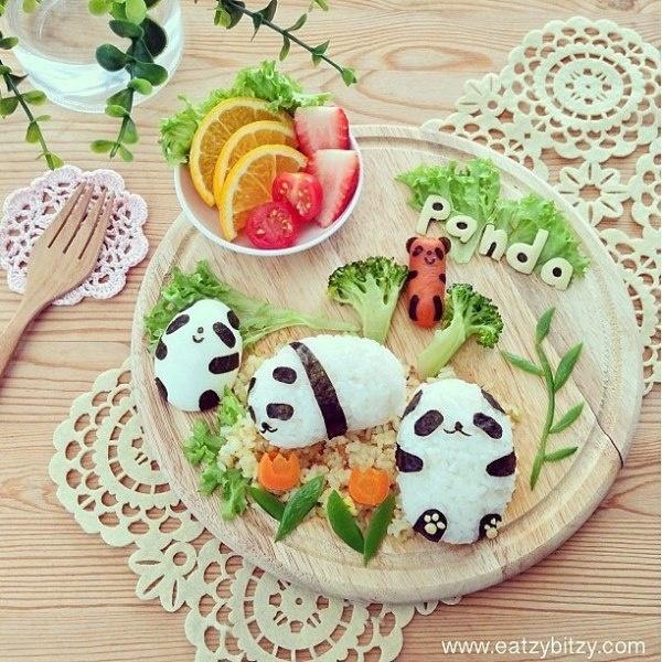 Exceptionnel Samantha Lee e i suoi artistici piatti per bambini QR12