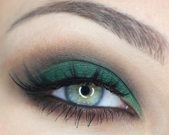 Estremamente Trucco per occhi verdi: regole e segreti MM19