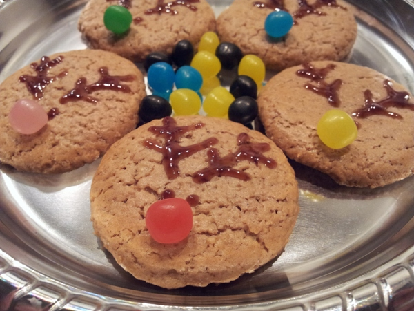 Biscotti natalizi cacao e spezie