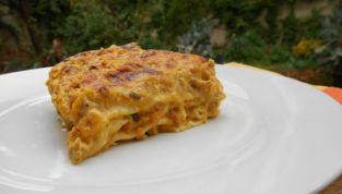 Lasagne con ragù bianco di zucca