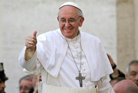 Papa Francesco uomo dell'anno