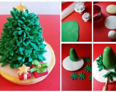 Segnaposto Natalizi Alimentari.Cake Design Segnaposto Ad Albero Di Natale