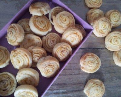 Biscotti di pastafrolla agli agrumi e spezie