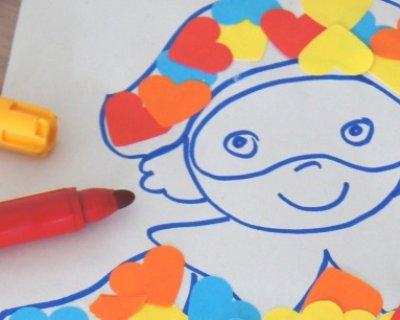 Colori caldi e freddi disegni da colorare