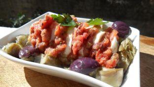Carciofi e mozzarella, una antipasto veloce per gli ospiti inattesi!