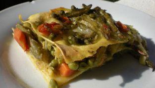 Lasagne con verdure: la primavera in tavola