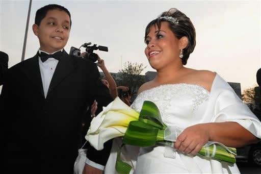 Sposa di Manuel Uribe