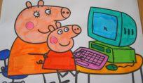 Disegni di Peppa Pig da scaricare e colorare