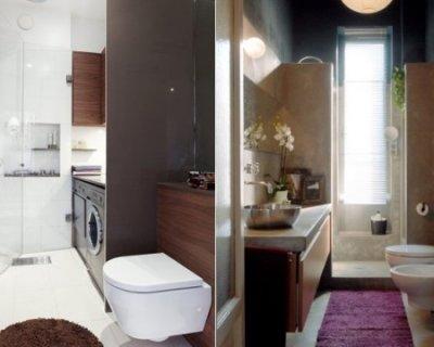 Come arredare il bagno piccolo e stretto consigli utili - Bagno piccolissimo in camera ...