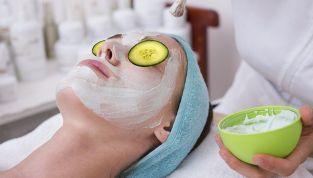 Maschere per il viso effetto energia