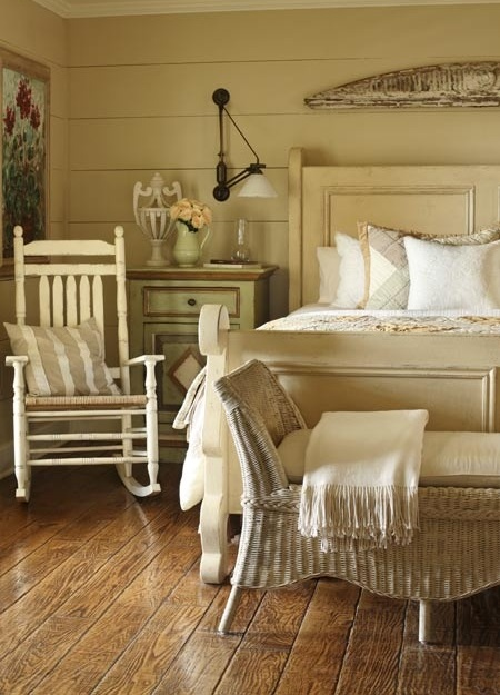Arredamento stile country una casa dal sapore rustico e accogliente - Stanze da letto rustiche ...
