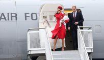 La Royal family atterra in Nuova Zelanda: ha inizio il tour