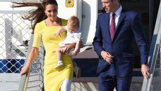 La Royal family sbarca in Australia