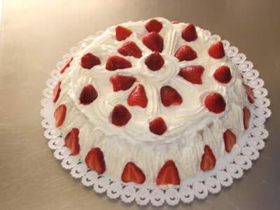 Dolci con le fragole golosi e fruttati for Decorazioni torte con fragole e cioccolato