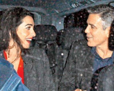 George Clooney e Amal Alamuddin: matrimonio in vista?