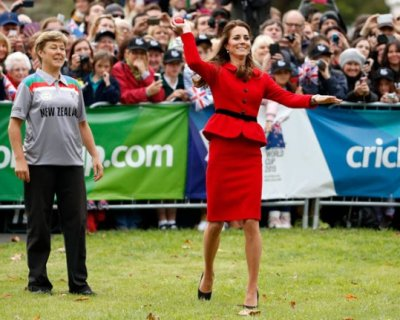 Kate Middleton in Nuova Zelanda tra partite di cricket, degustazioni e beneficenza