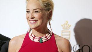 Sharon Stone al Festival di Cannes. Più sexy che a trent'anni