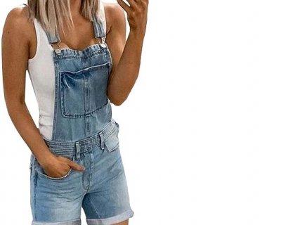 Salopette di jeans: il grande ritorno