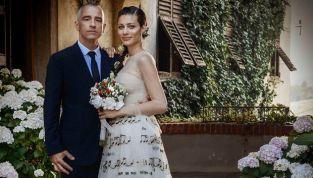 Eros Ramazzotti e Marica Pellegrinelli, ricevimento di nozze da favola