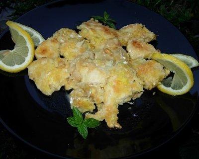 Petto di pollo al limone, un secondo veloce e saporito