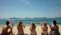 Studenti in vacanza: poco relax e molto studio