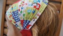 Tutorial per fare una bandana elasticizzata per bambine