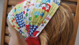 Bandana elasticizzata per bambine