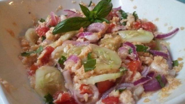 Panzanella toscana, piatto contadino
