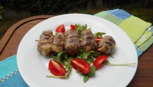 Involtini di carne alla messinese