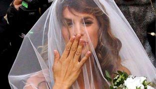 L'abito da sposa di Elisabetta Canalis