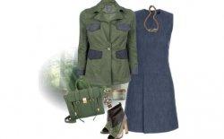Look della settimana: military trendy chic