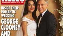 L'abito da sposa di Amal Alamuddin è di Oscar de la Renta