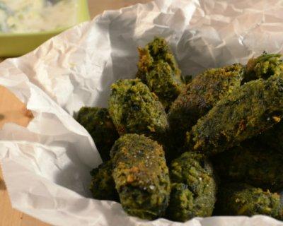 Kofta di ceci e spinaci