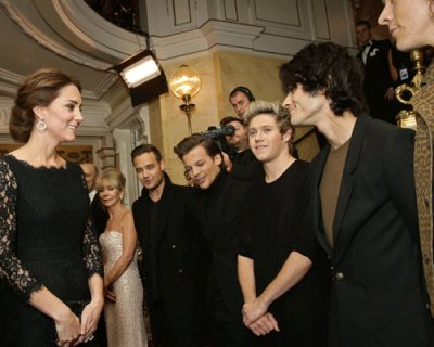 Kate Middleton a tutta musica!
