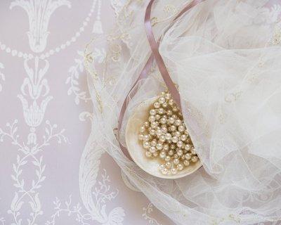 Palline di natale con perle for Palline natale fai da te