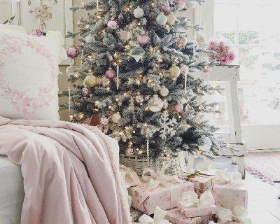 Shabby Chic Natale : Decori natalizi shabby chic