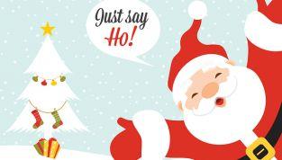 Scarica gratis i disegni di Babbo Natale da colorare
