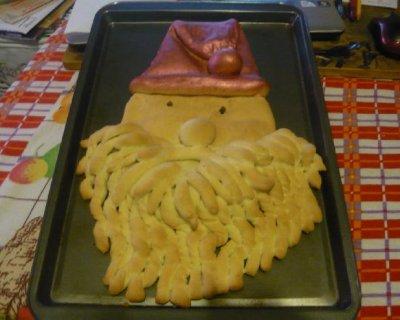 Pane croccante di Babbo Natale