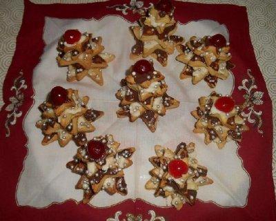 Albero Di Natale Con Biscotti.Biscotti Alberi Di Natale