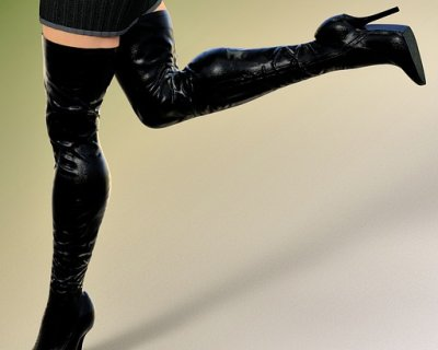 Come indossare gli stivali overknees